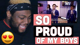 TNT Versions: TNT Boys - A Million Dreams ‬| REACTION