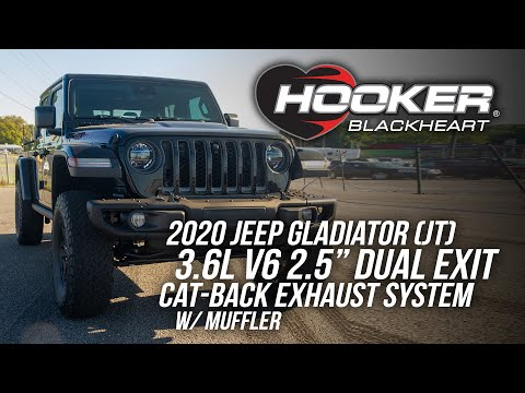 Jeep Gladiator Dual Exit Cat-Back Exhaust w/Muffler