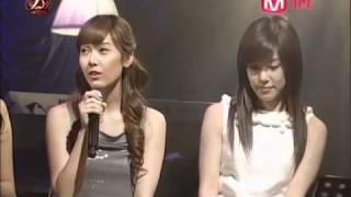 สาวๆ SNSD  Jessica  Tiffany Seohyun - Oppa Nappa + Talk + Heaven