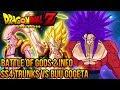 DragonBall Z: Battle of Gods - SS4 Trunks VS Super Buu Gogeta Absorbed!