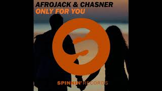 Afrojack & Chasner - My Own Game (Only For You)