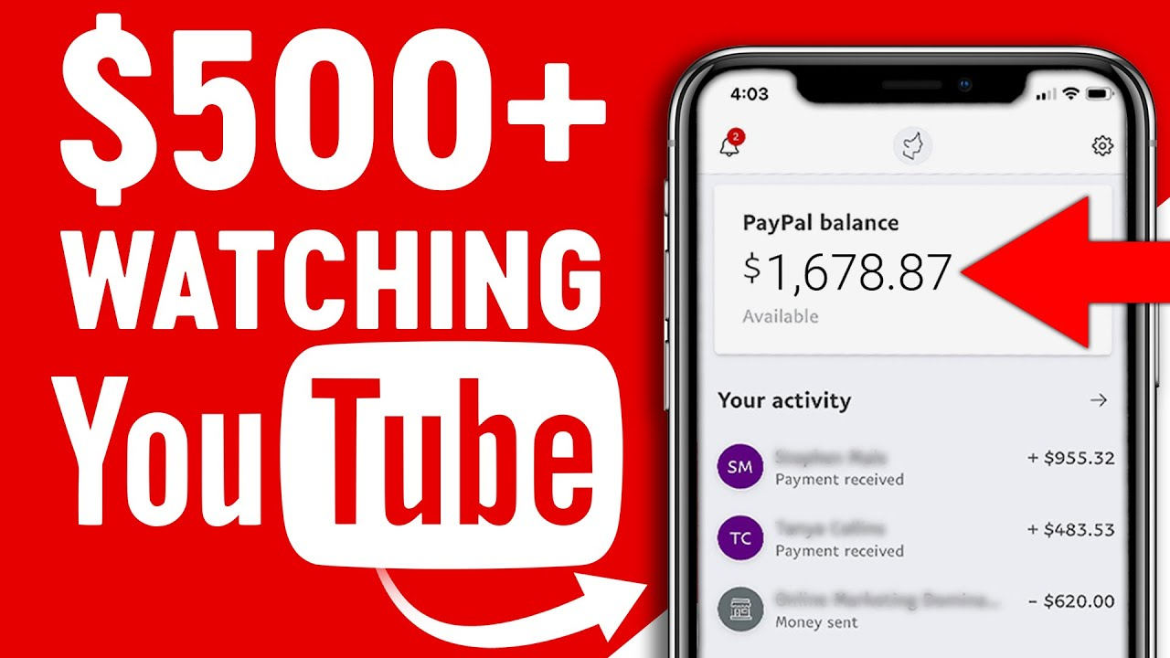 Make $500 Enjoying YouTube Videos! Readily Available Worldwide (Generate Income Online) thumbnail