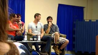 Eoin Macken & Tom Hopper tell which Hogwarts House they