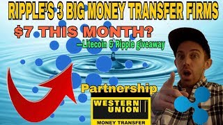 WILL RIPPLE (XRP) PARTNERSHIP WITH WESTERN UNION  HIT $7 WITHOUT COINBASE 2018?