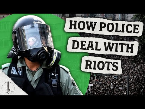 How Police Deal With Protests and Riots All Over the World...