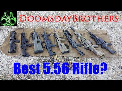 5.56/.223 Rifle Showdown! - SCAR 16S vs Bren 805 vs Tavor vs RDB vs ACR vs XCR vs FS2000 vs ARX 100