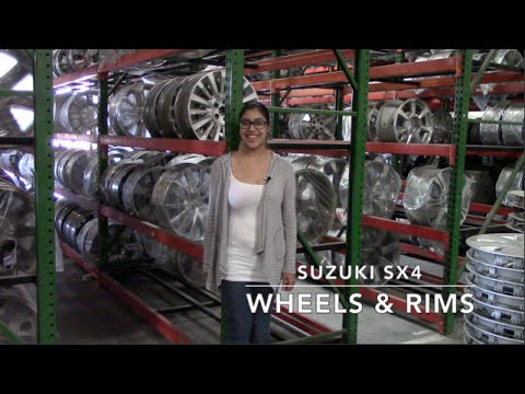 Factory Original Suzuki SX4 Wheels & Suzuki SX4 Rims – OriginalWheels.com