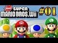 Let 39 s Play: New Super Mario Bros Wii Parte 1