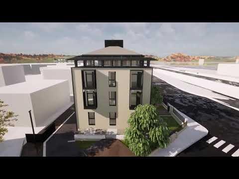 Come sarà il progetto di ristrutturazione della palazzina di Largo Flaiano