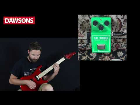 Ibanez TS808 Vintage Tube Screamer Re-issue Guitar Effects Pedal Review