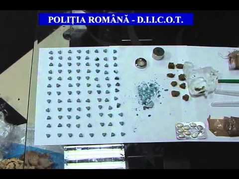 Traficant de droguri reţinut de poliţişti