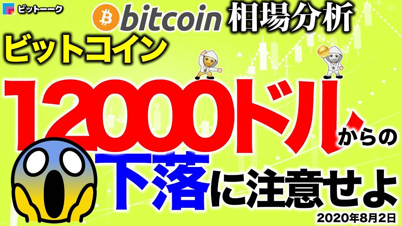 【ビットコイン 仮想通貨】12000ドルで落とされる理由【2020年8月2日】BTC、ビットコイン、XRP、リップル、仮想通貨、暗号資産、爆上げ、暴落 #ビットコイン #BTC #仮想通貨