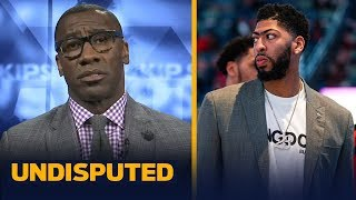 AD-Knicks trade 'makes no sense' if KD joins & is out a year — Shannon Sharpe   NBA   UNDISPUTED