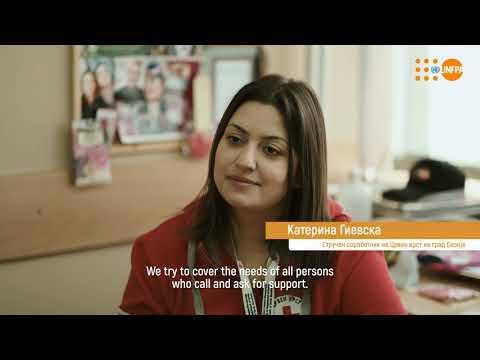 УНФПА со поддршка на мобилните тимови на Црвен крст на РСМ за бесплатни услуги на старите лица во време на Ковид-19