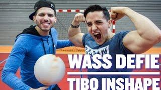 Wass défie TIBO INSHAPE au FREESTYLE FOOTBALL