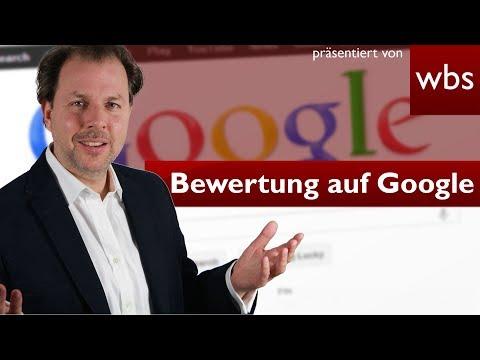 Muss Google Ein-Stern-Bewertung löschen? | Rechtsanwalt Christian Solmecke