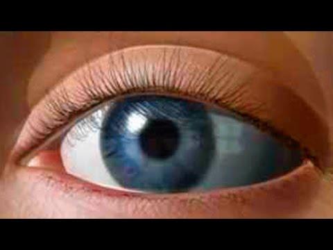 Закрытых глазах цветное зрение