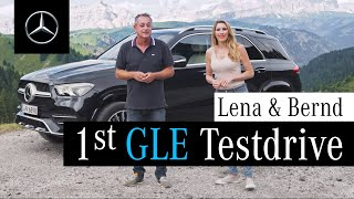 YouTube Video n8PFi-m5lKQ for Product Mercedes-Benz GLE-Class & GLE Coupe Crossover SUV (4th gen, W167) by Company Mercedes-Benz in Industry Cars