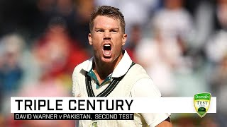 Full highlights: Warner's epic 335 not out