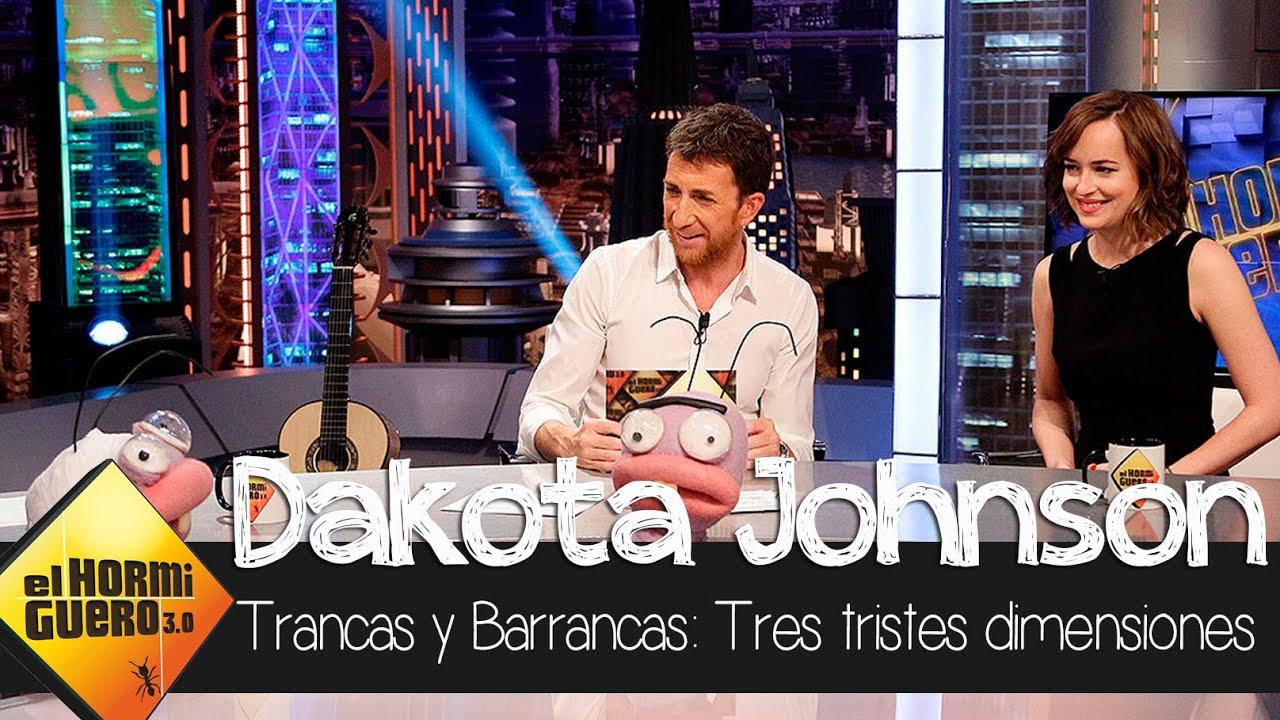 Dakota Johnson se divierte con Trancas y Barrancas – El Hormiguero 3.0