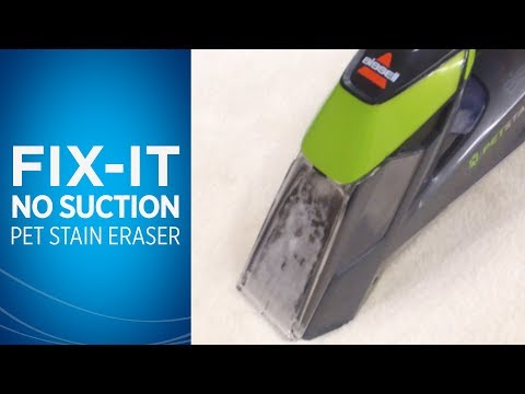 My Pet Stain Eraser™ Lost Suction, How do I fix it Video
