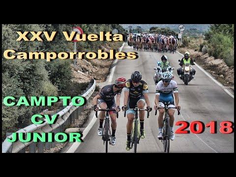 XXV Vuelta Camporrobles Junior 16-8-2018 CamptoCV Ciclismo 4K UHD