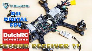 DJI Digital FPV + Second Receiver HOW TO (Frsky R-XSR F-port setup)