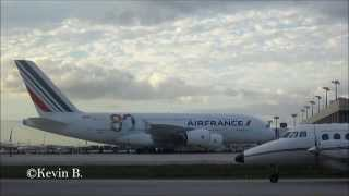 preview picture of video 'First Landing A380 to Mexican Land | Cancun, Mexico | Air France'