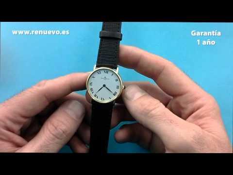 Reloj BAUME & MERCIER de oro de 18 kilates se segunda mano E 241948