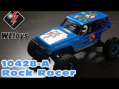 unboxing & first impressions of the WLtoys 10428-A Rock Racer...