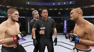 Khabib vs. BJ Penn (EA Sports UFC 2) - Champion Fight