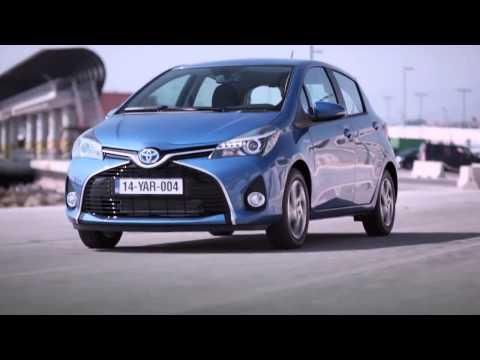 Toyota  Yaris Хетчбек класса B - рекламное видео 1