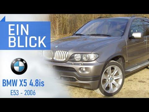 BMW X5 4.8is E53 2006 - Mehr als nur der Top Motor im X5 - Vorstellung, Test & Kaufberatung