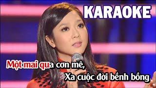 Karaoke | Qua Cơn Mê   Hà Thanh Xuân | Tone Nữ