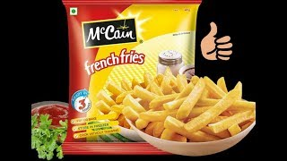 How To Make McCain Frozen French Fries Food 🤗😉