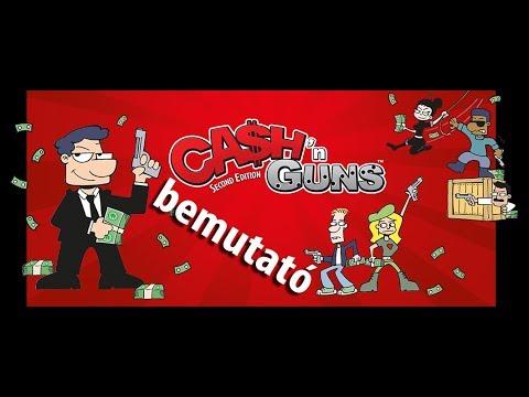 Cash 'n Guns 2. kiadás bemutató videó