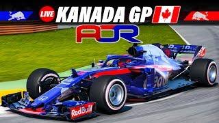 AOR Liga Rennen 7: Kanada GP – F1 2018 Livestream Deutsch | Formel 1 Gameplay German