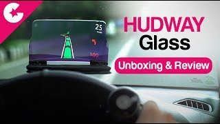 HUDWAY GLASS - Head Up Display (HUD) - Unboxing & Review
