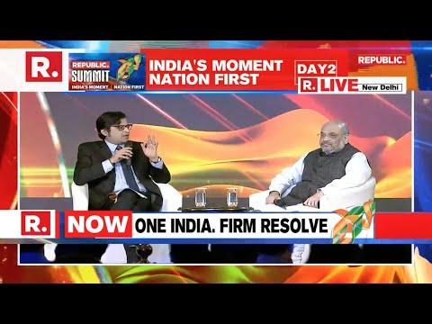 Home Minister Shri  Amit Shah addresses Republic Summit 2019