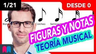 121 Megacurso Teoría Musical 35h Desde 0 A 100: Figuras Y Notas (tutorial Español)