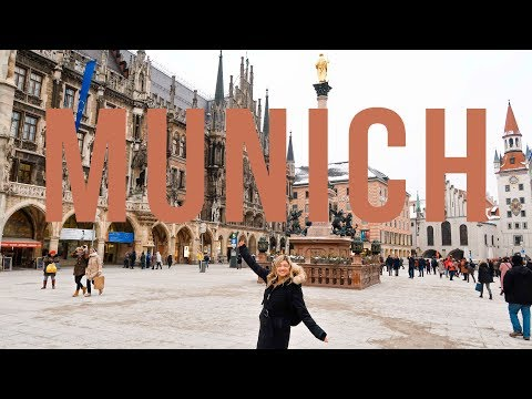 MUNICH TRAVEL VLOG | My Train Trip from Berlin to München, Hofbrauhaus Beer, & More!