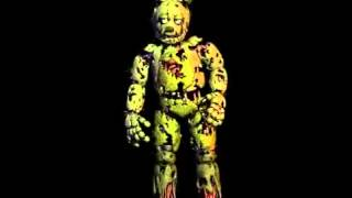 Springtrap sing to just gold