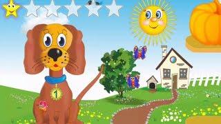 Мультик Сытая Ферма для детей. Кормим курочку и собачку