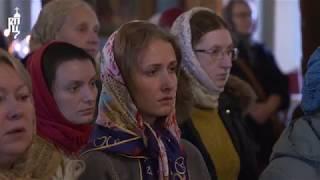 Святейший Патриарх Кирилл совершил Литургию в Новодевичьем монастыре Москвы