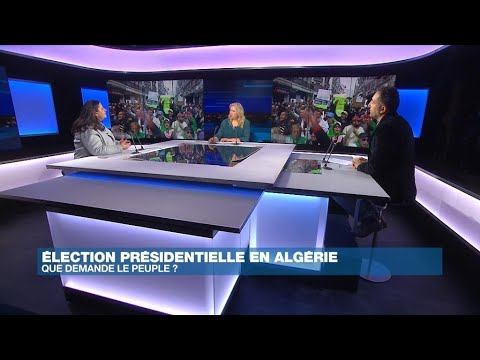 """Présidentielle en Algérie : un scrutin rejeté par le """"Hirak"""""""