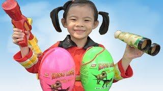 Trò Chơi Săn Trứng Khủng Long ❤ AnAn ToysReview TV ❤