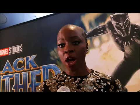 Danai Gurira at the Canadian Premiere of