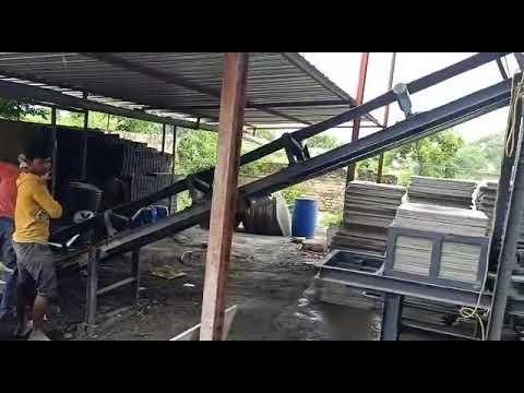 High Pressure With High Vibration Paver Block Machine