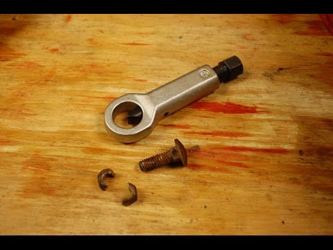 Use A Nut Splitter To Free Super Stubborn Bolts, Nuts Or Screws