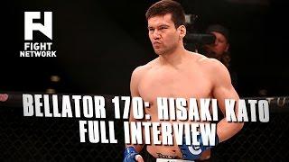 Bellator 170: Hisaki Kato - Full Interview with Cody Saftic